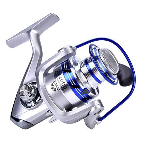 Alomejor Carrete de pesca con rueda anticorrosión plegable para playa abierta 2000 4000 5000 serie (#2000)