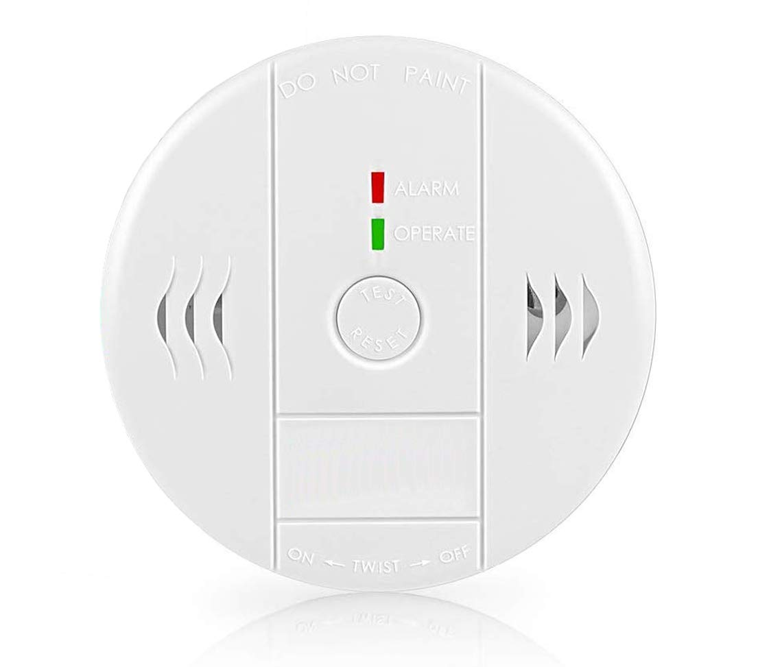 Combination Smoke and Carbon Monoxide Detector Alarm, GLBSUNION Beeps  Warning Smoke and CO Alarms for Basements Travel Home Office Kitchen  Bedroom Car, Battery Operated,Comply with UL 217/2034, 1-Pack : Amazon.in:  Home Improvement