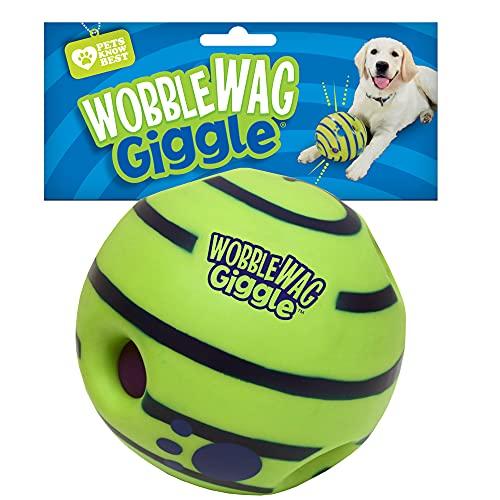 Wobble Wag Giggle Ball, Interactive Dog Toy, Fun Giggle...