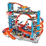 Hot Wheels City Ultimate Garage with Shark Attack, Multi