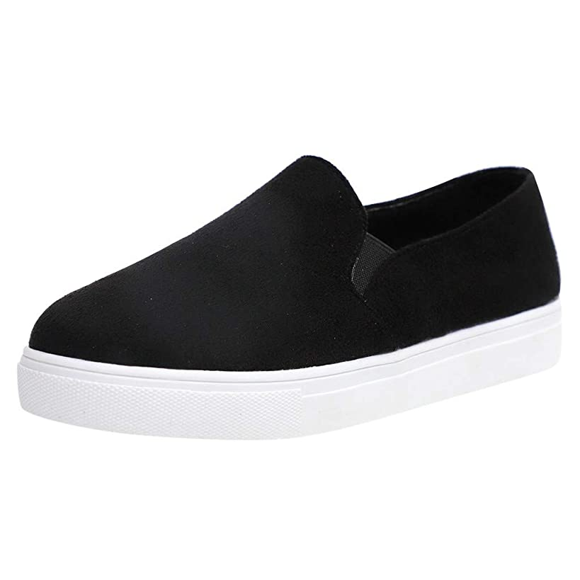 Sherostore ? Women's Canvas Loafer Sneaker Classic Slip on Skate Shoes Low-Top Tennis Shoes Classic Sneakers
