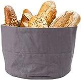 Rosenstein& Söhne Brot-Aufbewahrung Beutel: Brotkorb aus 100% Baumwolle, waschbar, Ø 20 cm (Brot-Tasche)