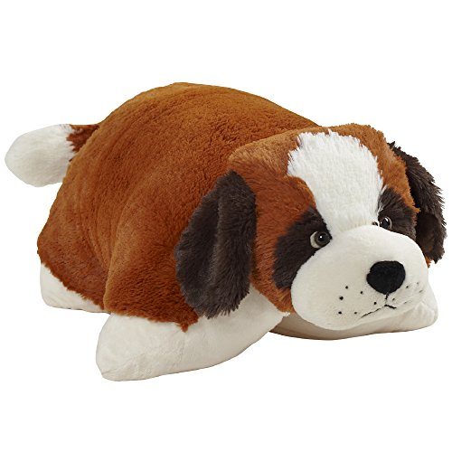 Pillow Pets Originals St. Bernard 18' Stuffed Animal Plush Toy