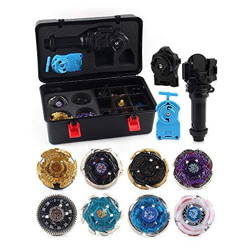 Beyblade Burst Peonzas Juego de trompos de Combate de giroscopio de Metal de 4D Fusion Model Burst Evolution Combination Series con lanzadores de Juguetes para niños