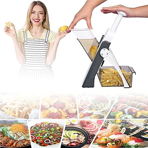 Artefacto para picar de cocina multifuncional - Cortador de verduras Picadora de...