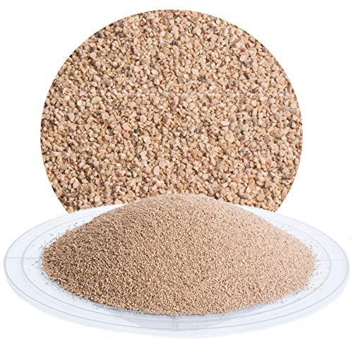 25 kg Nussschalengranulat Strahlmittel 450-1000 µm von Schicker Mineral für eine schonende Oberflächenbehandlung