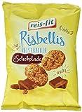 reis-fit Risbellis Reis Cracker Schokolade , 4er Pack (4 x 40 g) -