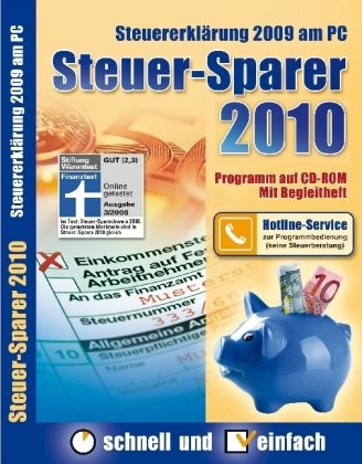 Steuer-Sparer 2010 - Steuererklärung 2009 am PC