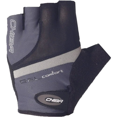CHIBA Handschuh Gel Comfort dkl. grau,S