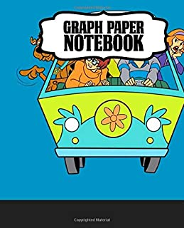 Notebook: Funny Velma Daphne Fred Scooby Shaggy Horror Detective Team Scooby-Doo American Animated Cartoon Soft Cover Girls Kids Elementary School ... Journal, Diary • One Subject • 110 Pages
