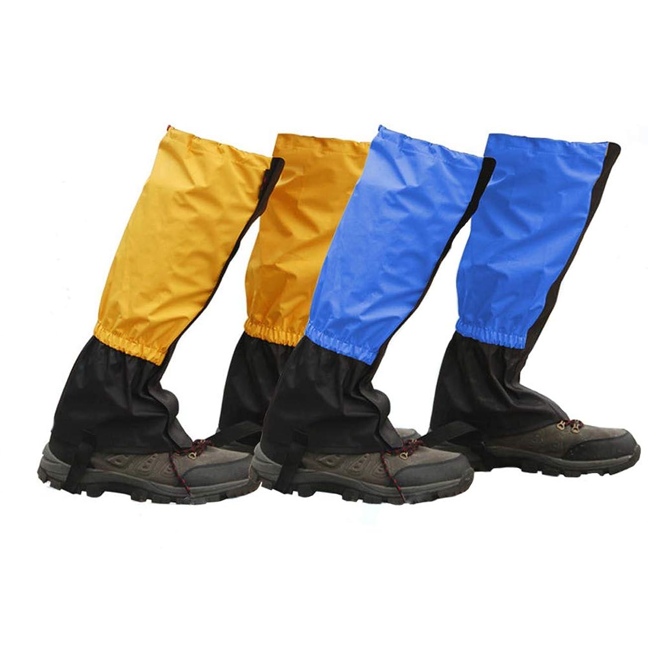 故国独裁ベールロングスパッツ ゲイター 登山スパッツ 登山ゲイター 登山 トレッキング 軽量 撥水 防水 泥除け雨 雪 悪天候の日に メンズ レディース ウトドア 男女兼用