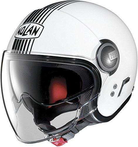 Nolan N21 Visor Joie de vi Metal White S