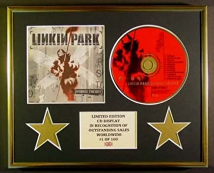 LINKIN PARK//CADRE CD//EDITION LIMITEE//CERTIFICAT DAUTHENTICITE//METEORA