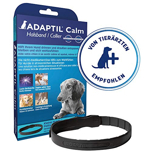 ADAPTIL Calm On-the-Go Collar, helps dogs cope with behavioural issues and life...