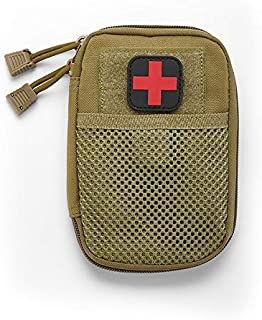 Superlly 1PC Portable Empty Bag Outdoor Bag First Aid Kit Water Resistant For Hiking Travel Home Car Emergency Treatment