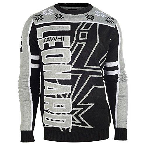 San Antonio Spurs Kawhi Leonard #2 CREW Neck NBA Ugly Sweater