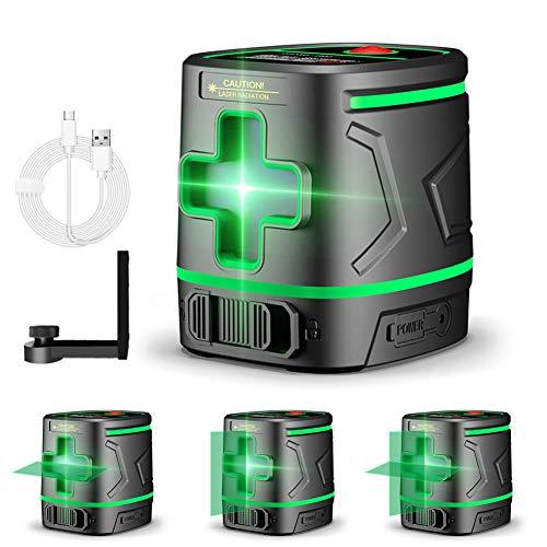 Nivel Láser Verde 30M, Nivel Láser Autonivelante, Doble L�