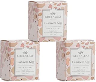 GREENLEAF Scented Votive Candle - Cashmere Kiss, 3-Pack