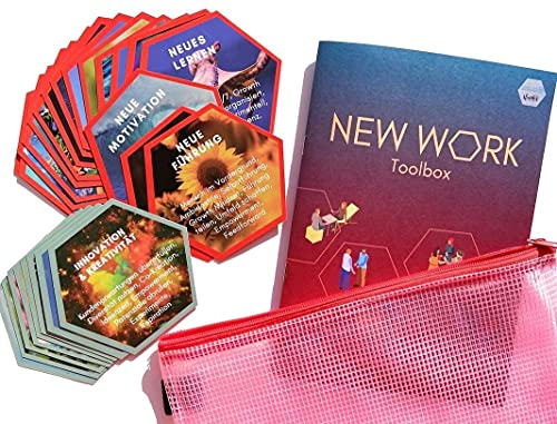 Arbeitswelt neu gestalten mit der New Work Toolbox (Methoden-Tools-Canvas-Führungspraktiken) Workshop & Coaching-Karten-Set für HR, Teamleiter, Berater, Agile Coaches
