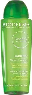 NODÉ G Champú 400 ml | Limpia suavemente – Regula la producción de sebo | Cabello graso cuero cabelludo con tendencia grasa.
