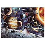 Viajero espacial rompecabezas 1000 pinturas famosas rompecabezas papel engrosado rompecabezas rompecabezas juguete 50X70cm
