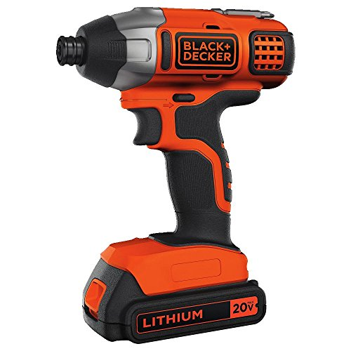 Product Image of the BLACK+DECKER 20V MAX Impact Driver Kit (BDCI20C)