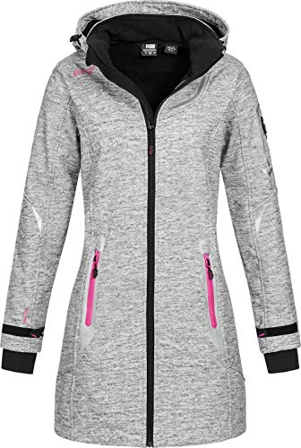 Geographical Norway Timael - Abrigo corto con capucha para mujer...
