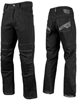 Speed and Strength Men's Rage with The Machine Leather and Denim Pants
