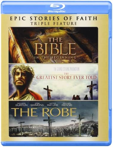 The Bible The Greatest Story Ever Told The Robe Blu ray product image