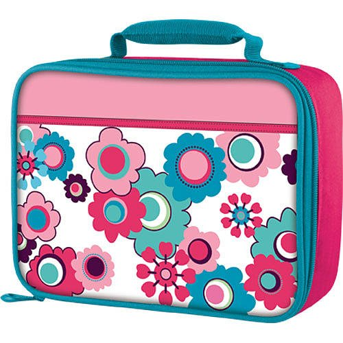 Thermos Soft Lunch Kit, Pink Flowers