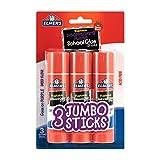 Best Glue Sticks - Elmer's Glue Stick (E579), Disappearing Purple, 3 Sticks Review