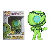 Figura De Vinilo Pop Scooby-Doo # 632 Captain Cutler (Glow) Figuras De Acción Juguetes Divertidos Regalos De Anime para Niños