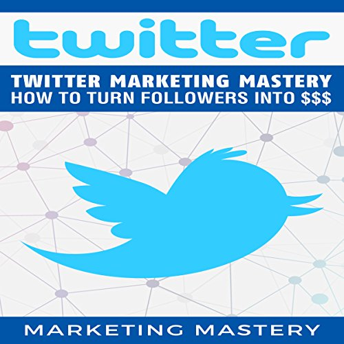 Twitter Marketing Mastery audiobook cover art