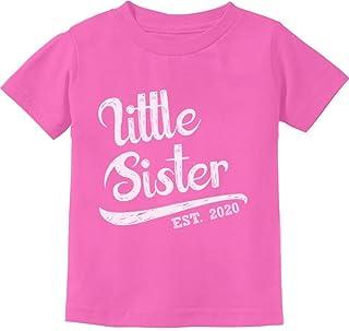 Little Sister 2020 Baby Shower Gift for Baby Girl Infant Kids T-Shirt