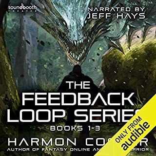 The Feedback Loop: Books 1-3 audiobook cover art
