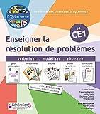 Enseigner la résolution de problèmes au CE1 Maths en-vie : Guide pédagogique avec 5 livrets-élèves