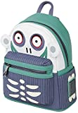 Pesadilla Antes De Navidad Loungefly - Barrel Mujer Mini Mochilas azul-verde, Semi piel,