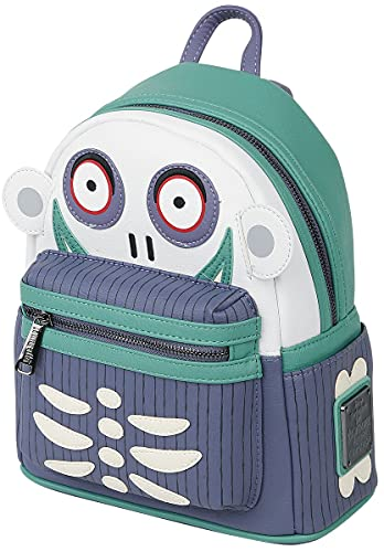 Loungefly x Nightmare Before Christmas Barrel Cosplay Mini Backpack (One Size, Multicolored)