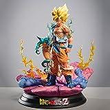 """Dragon Ball Son Goku Super Saiyan One 15.7"""" Figur Kakarotto Action Figure PVC para Fotografía, Afici..."""