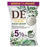EasyGoProducts Diatomaceous Earth - 100% Natural Food Grade - DE Fresh Water – 5.5 Pounds, (Model: EGP-DE-05)