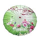 Forart a Prueba de Lluvia Hecho a Mano Chino engrasado Papel Paraguas sombrilla Aceite Papel Oriental sombrilla