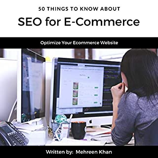 50 Things to Know About SEO for E-Commerce audiobook cover art