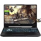 ASUS 2021 Flagship TUF A15 Gaming 15 Laptop...