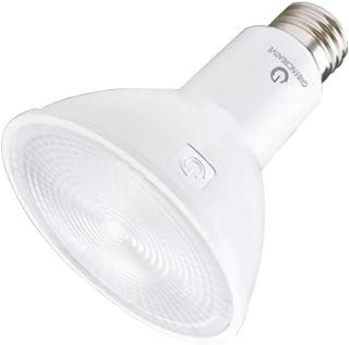 Green Creative 58151 PAR38 Flood LED Lightbulb, 2700K (Warm White), Dimmable,
