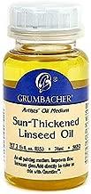 Grumbacher Sun-Thickened Linseed Oil 1 pcs sku# 1841524MA