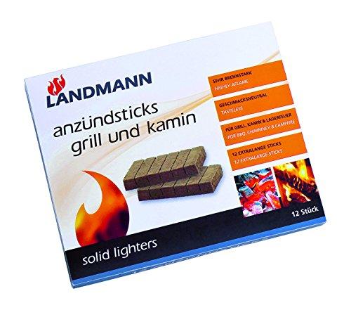 Landmann Grillanzünder, Braun, 12 Stk pro Packung