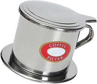 Baoblaze Vietnamese Coffee Filter Maker Press, Stainless Steel Reusable Drip Coffee Filter, Drip Cup Filter, Pot Single Cu...