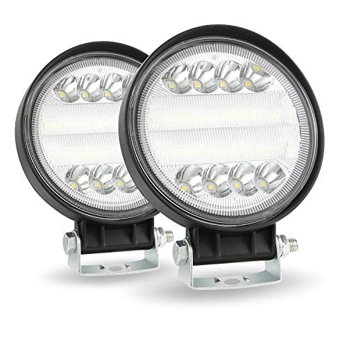 CICMOD 2× 72W Faro da Lavoro LED Auto 4   6000K 7200lm 12V 24V Luce Fari LED IP67 Impermeabile per off-Road Moto SUV ATV Camion