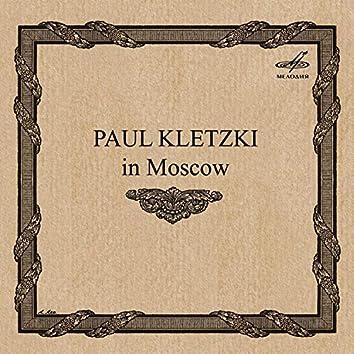 Paul Kletzki in Moscow (Live)