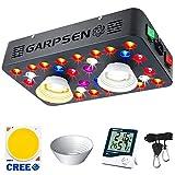 Garpsen CREE COB Riflettore Serie Lampade LED per Piante, 2020 1000W Lampada Coltivazione Indoor, con Veg&Bloom, Funzione Daisy Chain, Spettro Completo Luci Piante per Fioritura e Fruttificazione